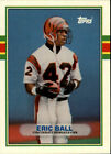 1989 TOPPS TRADED FOOTBALL CARDS (1-132) U-PICK FROM LIST $0.99 USD on eBay