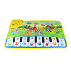 37X60Cm Baby Musical Carpet Children Play Mat Baby Piano Music Gift Baby Ed7