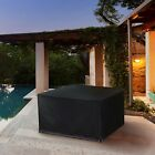 Outdoor Garden Furniture Covers Waterproof Rectangle Rattan Cube Cover Patio Set