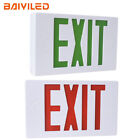 Standard LED Emergency Exit Sign Light with Battery Back-up, UL 924 Certified