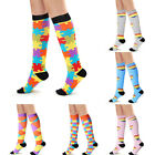 1Pair Unisex Health Compression Athletic Medical  Travels Long Socks GIFT