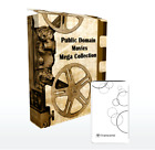 Classic Movies Collection on Hard Drive, Public Domain, Old Serials, 980+ Titles
