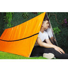 orange waterproof insulated tent camping outdoor shelte survival foldable ten Fw