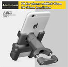 Universal Aluminum Alloy Motorcycle Phone Holder For iPhone Cellphone Holder