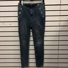 Free Peopl Womens Jeans Sailor Front Skinny Size 29