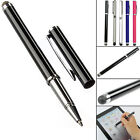 Pack Of 3 Capacitive Smooth Soft Touch Screen 2 In 1 Stylus Pen For Mobile Phone