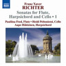 Franz Xaver Richter: Sonatas for Flute, Harpsichord and Cello (US IMPORT) CD NEW