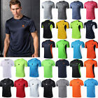 Mens Summer Gym Sport Running T Shirt Fitness Muscle Quick Dry Tops Tee M-4XL image