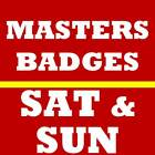 2 SATURDAY SUNDAY MASTERS GOLF TICKETS~ 2020 AUGUSTA NATIONAL BADGES~11/14 11/15