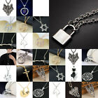 Cool Necklace For Women Men Dragon Gold Silver Necklaces Chains Love Pendant