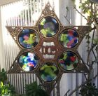 """Vintage Collectible Jerusalem ISREAL Judaica Passover Wall Hanging Plate 12.5"""""""