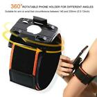 Outdoor Running Armband Bag Case 360° Rotatable Sports Workout Cellphone Holder