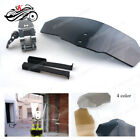 Adjustable Windscreen Wind Deflector Universal Windshield for Motorcycle