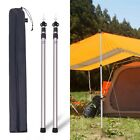 "REDCAMP 2Pcs Aluminum Adjustable Camping Tarp Poles 90"" Telescoping Tent Poles"