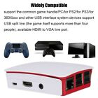 Wireless Bluetooth Game Console Box +128G Game Memory Card For Raspberry Pi HDMI