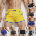 Mens Boys Soprt Short Pants Quick Dry Summer Swim Trunks Swimwear Loose Pants CA