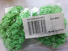 "Внешний вид - LOT 144 Silk / Satin like 1/4"" RIBBON ROSES Wire Stem Pick Colors Wedding Crafts"