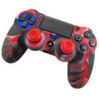 Soft Camouflage Silicone Case Cover Protective For Playstation PS4 Controller.