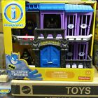 "Fisher-Price Imaginext DC Super Friends Gotham City Jail Playset ""New in Box"""