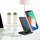Wireless QI Fast Charger Charging Stand Holder For iPhone X iPhone 8/8 Plus JH