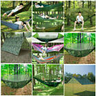 2 Person Outdoor Camping Nylon Hammock Parachute Hanging Bed Sleeping Swing New