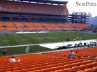 (4) Steelers vs Browns Tickets 20 Yard Line Lower Level 5th Row Home Side!! on eBay