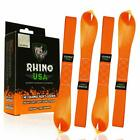 Rhino USA Soft Loop Motorcycle Tie Down Straps - Guaranteed 10,427Lb Max Break