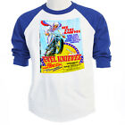 "EVEL KNIEVEL""70's Poster Art"" LONDON UK,Classic Show T-SHIRT,ALL SIZES, T-47Blue"