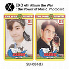 EXO The War The Power Of Music 4th Repackage Official Photocard K-POP KPOP