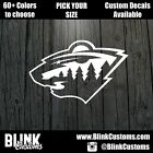 Minnesota Wild Team Decal Window Decal Sticker $14.99 USD on eBay