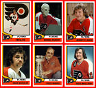 PHILADELPHIA FLYERS 1974-75 High Grade Hockey Card Style Fridge Magnet U-PICK $2.61 USD on eBay