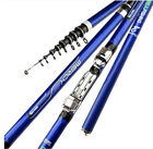 Внешний вид - Carbon Fiber Spinning Fishing Rod 3.6M 4.5M 5.4M 6.3M M Power Telescopic Rock Fi