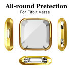 Shockproof Silicone Bumper TPU Protector Clear Case Cover For Fitbit Versa /Lite