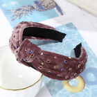 Women's Tie Hairband Headband Twist Wide Pearl Knot Hair Hoop Bands Accessories