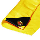 10 mil Heavy Duty Canopy Tarp Yellow 3 ply Tent Car Boat Cover (5% off 2+)