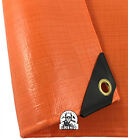 12 mil Heavy Duty Safety Orange Tarp Tent Car Boat Cover Choose Size (5% off 2+)