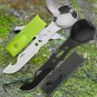 Multi functional Camping Cookware Spoon Fork Bottle Opener Portable Tool Safety