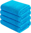 Goza Towels Cotton Hand Towels 4- Pack, 16 x 28 inches