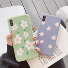 Fashion Summer Flower Pattern Shockproof Phone Case Cover for iPhone XR 6-Xs Max