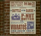 Various - Battle Of The Bands - P-Nut Butter vs Vibratos (CD) - Beat 60s 70s