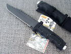"12.5"" SHARP MILITARY ASSAULT CAMP BOWIE JUNGLE TACTICAL SURVIVAL HUNTING KNIFE"