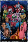 X2802 Killer Klowns from Outer Space Classic Movie Vintage Film Art Silk Poster