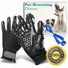 Shower & Bath Accessories Pet Grooming Glove, Gloves, Set - Rubber Nubbed Anti