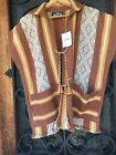 Fabulous Mexican Woven Vest by Nativa Woven on Backstrap Loom
