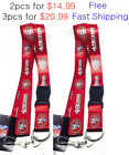 San Francisco 49ERS Lanyard Red Keychain 2pcs for $14.99, 3pcs for $20.99