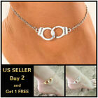 Внешний вид - Handcuffs Beach Gold Silver Anklet Ankle Bracelet Foot Chain