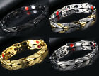 Womens Stainless Magnetic Therapy Bracelet Therapeutic Energy Healing Bracelet