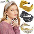 Women's Knot Headband Hairband Dot Head Band Wide Hair Hoop Bands Accessories