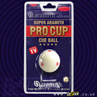 "ARAMITH PRO CUP SPOTTED WHITE SNOOKER / POOL TRAINING CUE BALL 1 7/8"" 2 1/16"" £22.99 GBP on eBay"