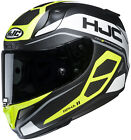HJC Adult Hi-Vis/Black/Grey RPHA 11 Saravo MC-4hsf Motorcycle Helmet